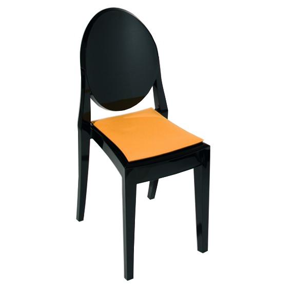 stuhlkissen l victoria ghost i philippe starck alle stuhlkissen stuhlkissen. Black Bedroom Furniture Sets. Home Design Ideas