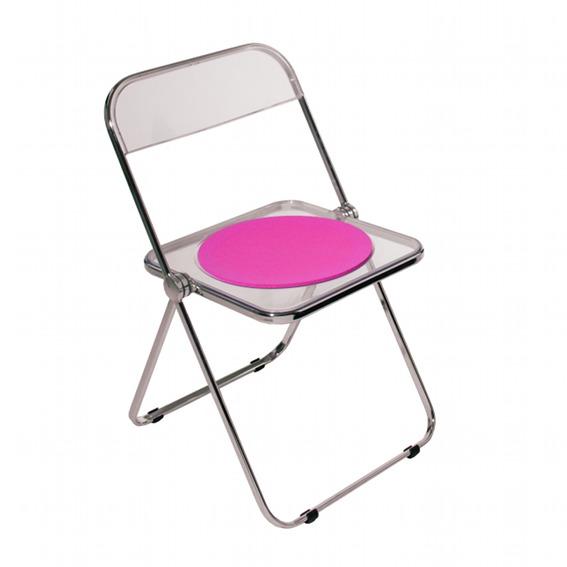 sitzauflage l plia i giancarlo piretti plastic side chair eames sitzauflagen nach. Black Bedroom Furniture Sets. Home Design Ideas
