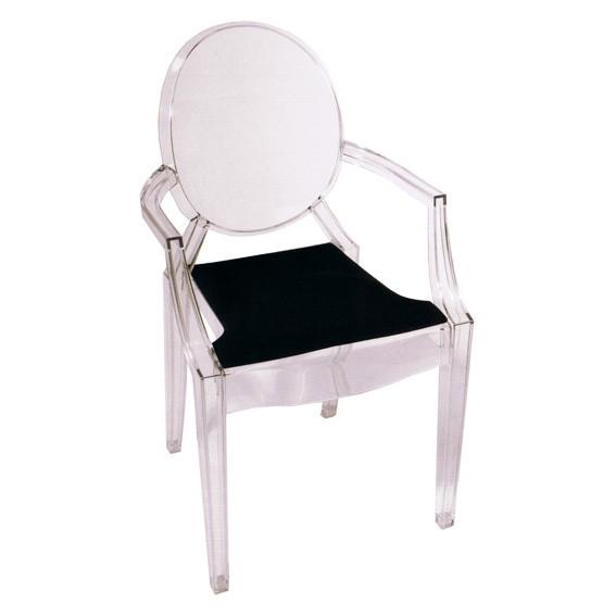 AuBergewohnlich Sitzauflage L Louis Ghost I Philippe Starck | Eames Plastic Chair |  Sitzauflagen Nach Stuhlmodell | Sitzauflagen | Filzkissen.de