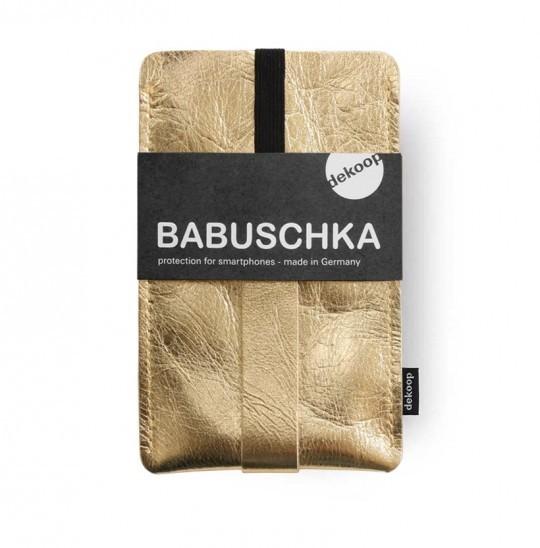 Babuschka Handytasche I-phone 6+ Gold dekoop