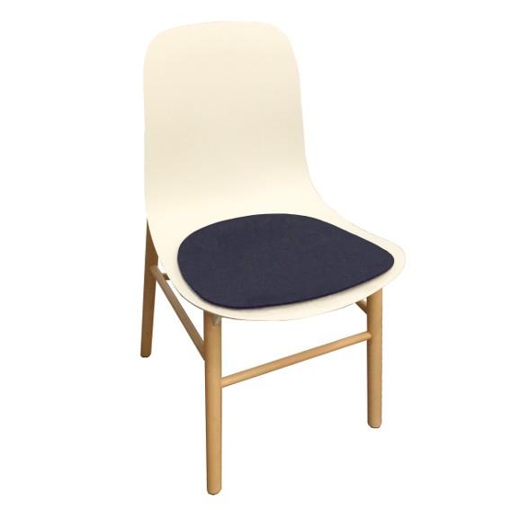 Kristalia Sharky Chair Sitzauflage aus Wollfilz