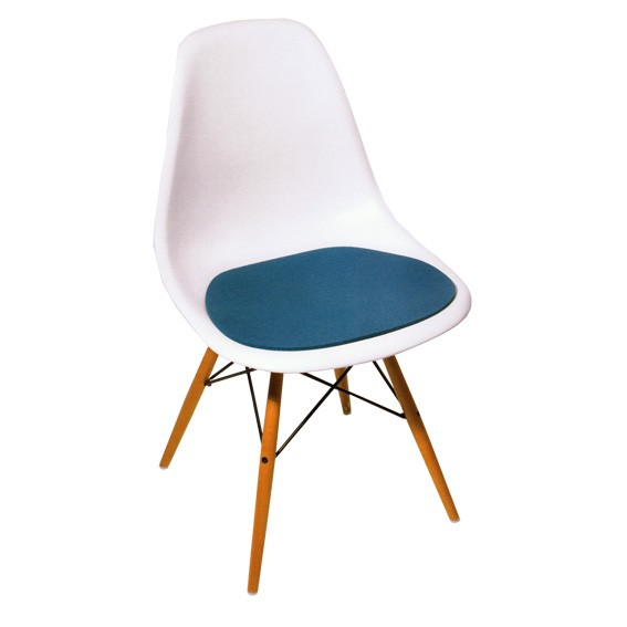 Sitzauflage Eames Side Chair filzkissen.de DSR DSX DSW