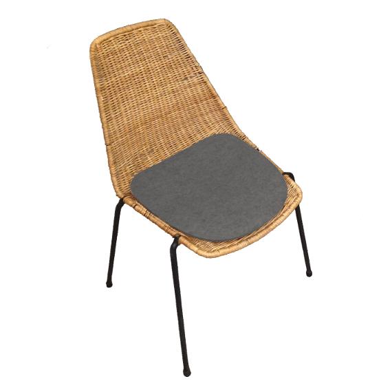 sitzauflage l basket chair i gian franco legler eames plastic chair sitzauflagen nach. Black Bedroom Furniture Sets. Home Design Ideas
