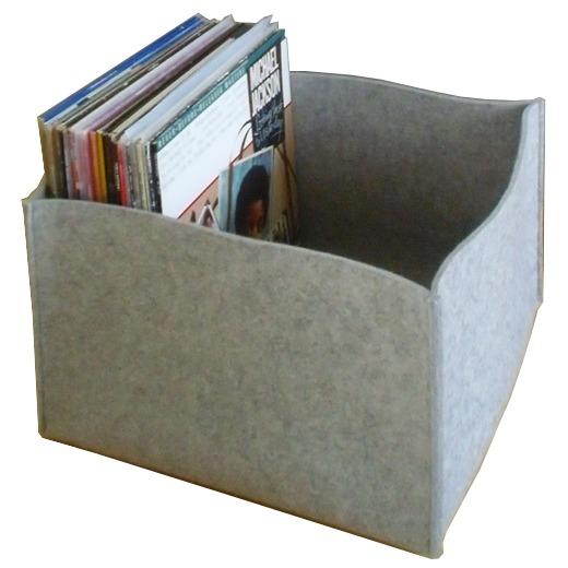 filzkorb i 40x40x25 cm i basic l flach k rbe wohnideen. Black Bedroom Furniture Sets. Home Design Ideas