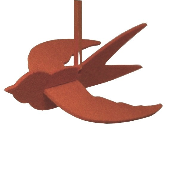 Vögelchen in Kenia Rot Schwalbe