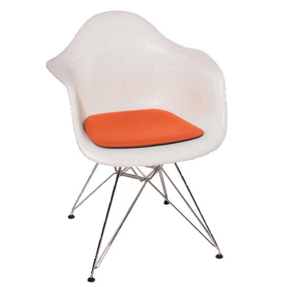 Stuhlkissen l eames arm chair i charles ray eames alle for Eiermann replica